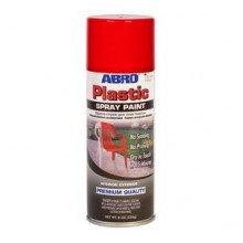 Краска-спрей для пластика красный перец ABRO 226 гр.