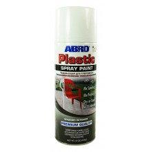 Краска-спрей для пластика белая гл.ABRO