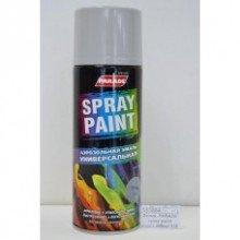 Краска-спрей PARADE METAL SPRAY RAL 9006 Бело-алюминиевый, 400мл.