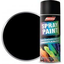 Краска-спрей PARADE SPRAY PAINT 9005 Черный глянц, 400мл.