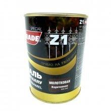 Грунт-эмаль 3в1 PARADE Z1 молотковая коричневая, 2,5кг