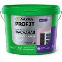 Краска в/э фасадная Profi IT База А 14 кг.Лакра