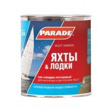 Лак алкидно-уретановый PARADE L20 Яхты & Лодки Полумат., 0,75л