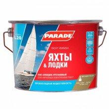 Лак алкидно-уретановый PARADE L20 Яхты & Лодки Полумат., 2,5л