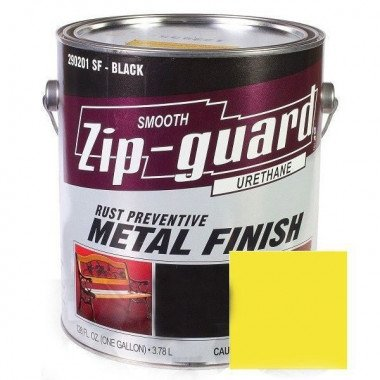 Краска уретановая ZIP-Guard Гладкая желтая, 946мл