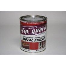Краска уретановая ZIP-Guard Гладкая красная, 946мл