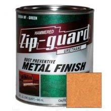 Краска уретановая ZIP-Guard Молотковая золотая, 946мл