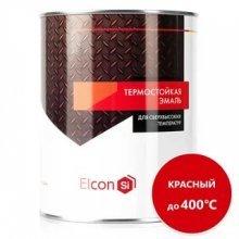 ЭЛКОН-ТЕРМОСТОЙКАЯ КРАСНЫЙ Э 0,8К (400*С, банка)