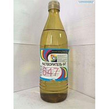 РАСТВОРИТЕЛЬ-647 НЕТ Р 0,5Л (ст/бут)