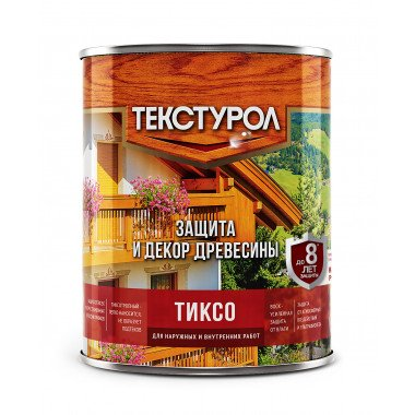 Текстурол ТИКСО древозащитное средство Бесцветный, 1л