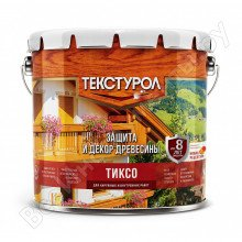 Текстурол ТИКСО древозащитное средство Дуб, 3л