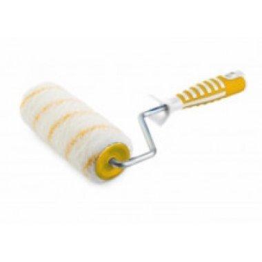 Валик 240Х45Х8мм, ворс 11,0мм, полиамид, желтая нить. ПРОФИ. 2-х компаз. ручка. АКОР.