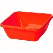 Кювета-таз садовый, прямоугольная 40л, цветной Серия Flexible. Пластико.