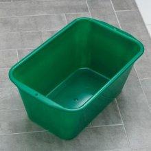 Кювета-таз садовый, прямоугольная 60л, цветной Серия Flexible. Пластико.