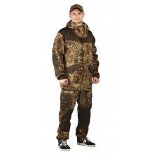 """Костюм """"ГОРКА-ГОРЕЦ"""" куртка/брюки, цвет: кмф """"Питон коричневый""""/т.хаки, ткань: Грета (48-50, 170-176"""