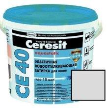 Затирка водоотт. Сeresit Aquastatic жасмин, 2 кг СЕ 40