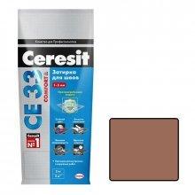 Затирка для узких швов Ceresit СЕ 33 какао 2 кг.