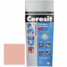 Затирка для узких швов Ceresit СЕ 33 карамель 2 кг.