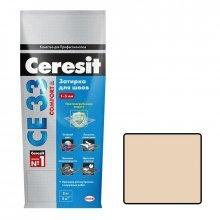 Затирка для узких швов Ceresit СЕ 33 натура, 2 кг.