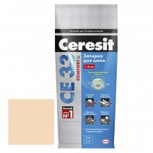 Затирка для узких швов Ceresit СЕ 33 персик, 2 кг.