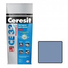 Затирка для узких швов Ceresit СЕ 33 серо-голубой 2 кг.
