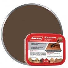 Шпатлевка по дереву PARADE S50, 0.4 кг Орех