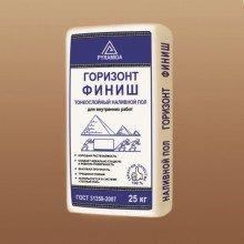 Наливной пол Пирамида Горизонт Финиш самонивелир.смесь  (толщ. 3-10 мм)  25 кг мешок
