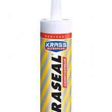 Герметик силиконовый KRASS Ultraseal санитарный Белый 260мл
