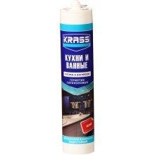 Герметик силиконовый KRASS для кухни и ванны Белый 300мл