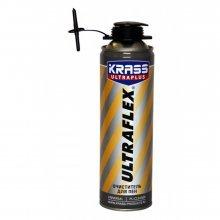 Очиститель монтажной пены, KRASS ULTRAFLEX, 500 мл,