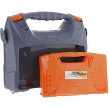 Кейс для электроинструмента с органайзером ELEKOFFER+ 16'' серо-свинцовый оранжевый.