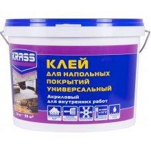Клей для напольных покрытий акриловый, 14кг, Krass