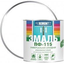 ПФ-115 БЕЛЫЙ МАТОВЫЙ Э 2,7К PROREMONTT