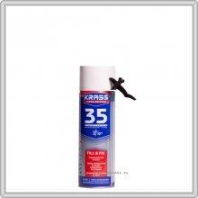 Пена монтажная бытовая. KRASS Home Edition 35 Всесезонная, 500мл.