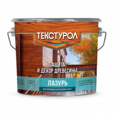 Текстурол ЛАЗУРЬ древозащит. средство. Тик, 3л
