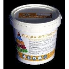 Краска в/э интерьерная для стен и потолков Пирамида, 1 кг База А