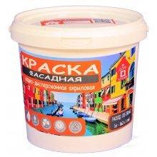 """Краска в/э фасадная Дом Ремонта """"Профи"""" База А 1 кг"""