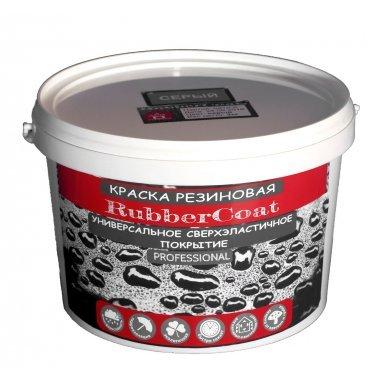 Краска резиновая RubberCoat Шоколадный RAL 8017, 3кг, Дом ремонта