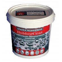 Краска резиновая RubberCoat Шоколадный RAL 8017, 1кг, Дом ремонта
