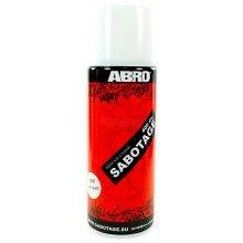Краска-спрей  ABRO SABOTAGE 1007 белый матовый