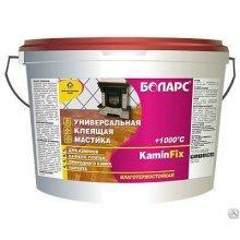 Клей KAMINFIX термостойкий +1000С 18кг.БОЛАРС