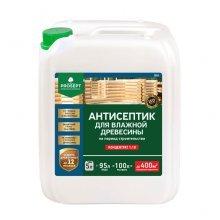Антисептик для влажной древесины 5л концентрат1:19. PROSEPT BiO
