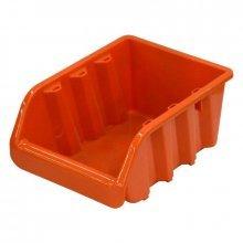 Лоток для метизов 24,5х17х12,5 см оранжевый