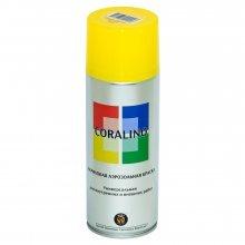 Краска-спрей CORALINO Цинково-желтый. RAL 1018. 520мл/200гр.