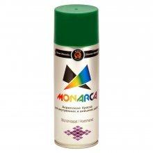 Краска-спрей MONARCA МОЛОТКОВАЯ Зеленый темный. 520мл/270гр.