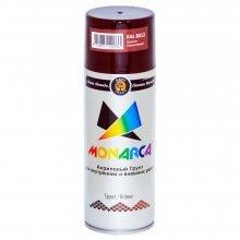 Грунт-спрей MONARCA Красно-коричневый. RAL8012. 520мл/270гр.
