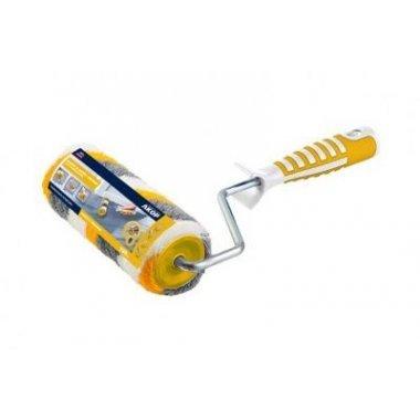 Валик 180Х48Х8мм, ворс 12,0мм, полиамид, желто-серая нить. ПРОФИ. 2-х компаз. ручка. АКОР.